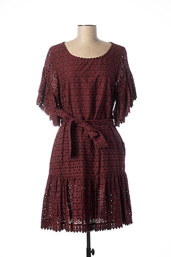 Robe mi-longue violet ADOLFO DOMINGUEZ pour femme