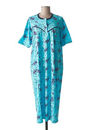 Chemise de nuit bleu MMB pour femme