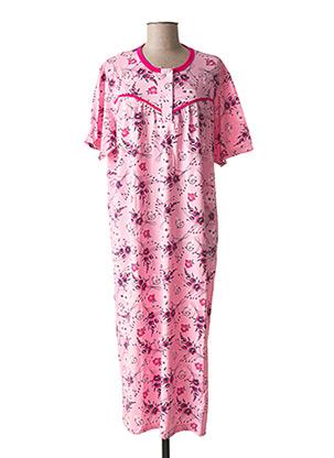 Chemise de nuit rose MMB pour femme