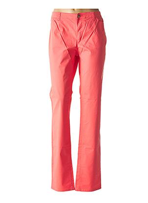 Pantalon casual rose ARMANI pour femme
