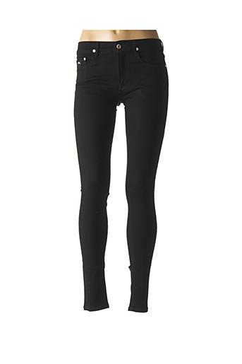 Jeans skinny noir APRIL 77 pour femme