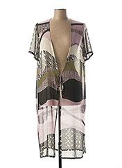 Veste casual violet GUY DUBOUIS pour femme seconde vue