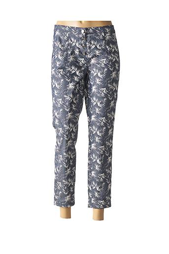 Pantalon casual bleu TUZZI pour femme
