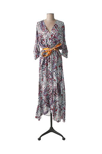 Robe longue bleu EVA KAYAN pour femme