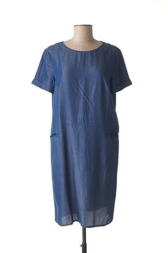 Robe mi-longue bleu NINATI pour femme