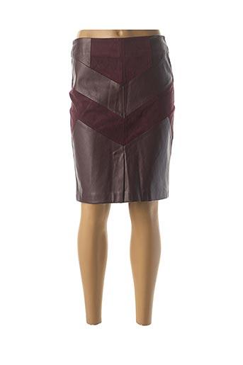 Jupe mi-longue violet JUS D'ORANGE pour femme