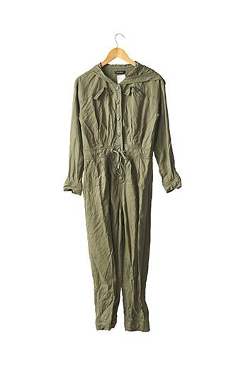 Combi-pantalon vert COP COPINE pour femme