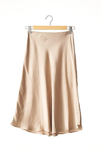Jupe longue beige NASTY GAL pour femme