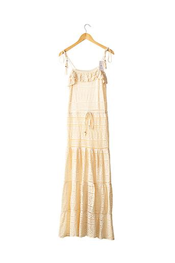 Robe longue beige BA&SH pour femme