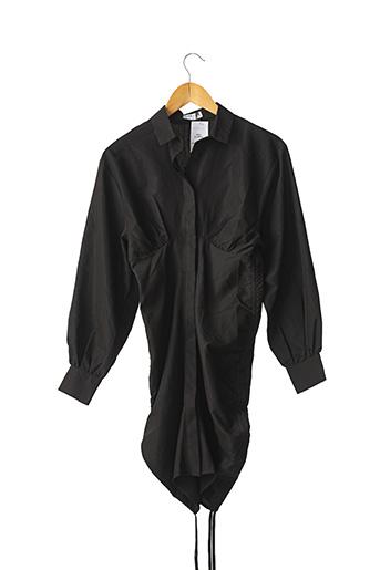 Robe mi-longue noir LOAVIES pour femme