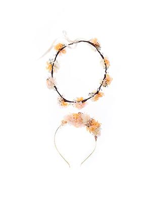 Accessoire pour cheveux orange LES COURONNES DE VICTOIRE pour femme