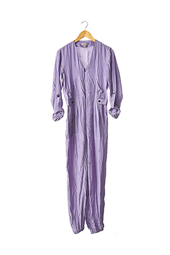 Combi-pantalon violet ASOS pour femme