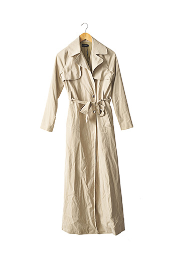 Imperméable/Trench vert PRETTY LITTLE THING pour femme