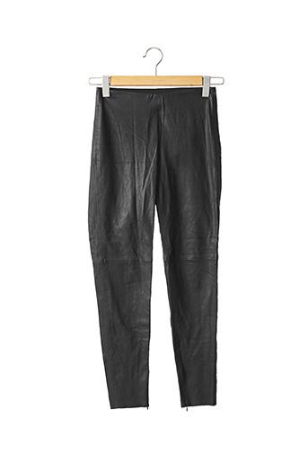 Pantalon casual noir ZARA pour femme