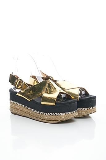 Sandales/Nu pieds jaune ZARA pour femme