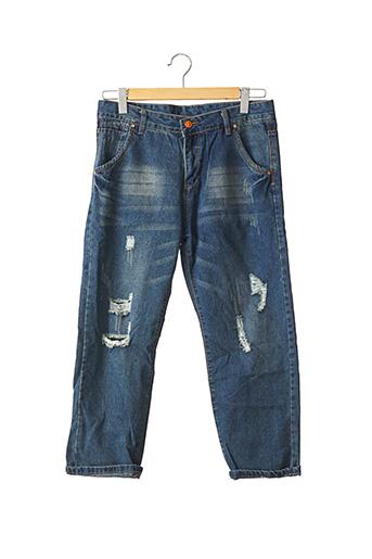 Jeans coupe slim bleu SHEIN pour homme