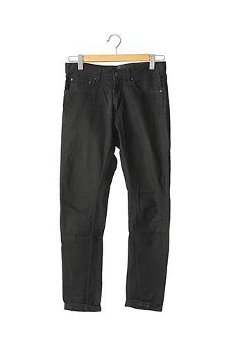 Jeans coupe slim noir DIVIDED H&M pour homme