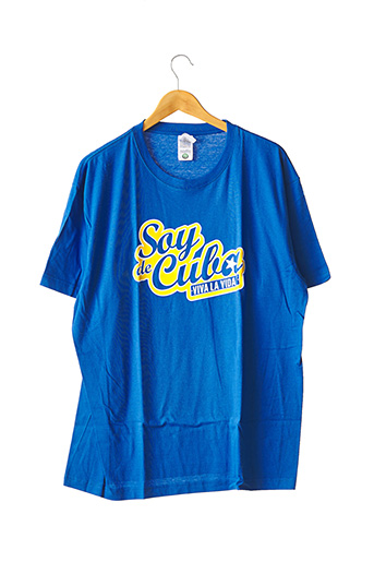 T-shirt manches courtes bleu SOY DE CUBA pour homme