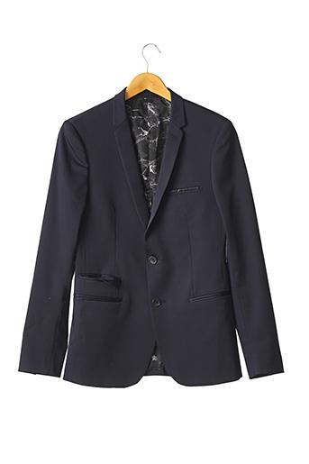 Veste chic / Blazer bleu IZAC pour homme