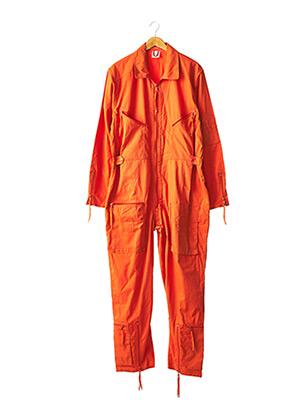 Combi-pantalon orange MIL-TEC pour homme