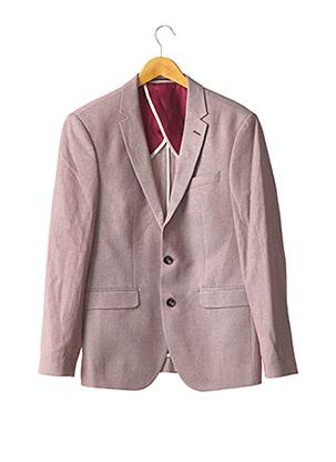 Veste chic / Blazer rouge FARUK pour homme