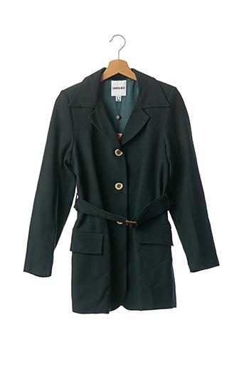Manteau court vert UNIQUE 21 pour femme