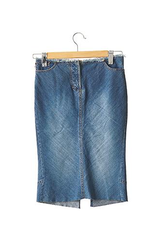 Jupe mi-longue bleu PAUL SMITH pour femme