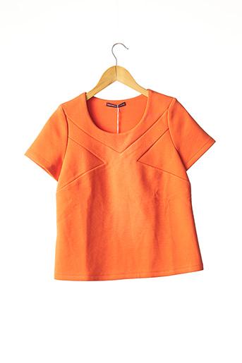 Top orange COMPTOIR DES COTONNIERS pour femme