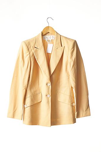 Veste chic / Blazer jaune ESCADA pour femme