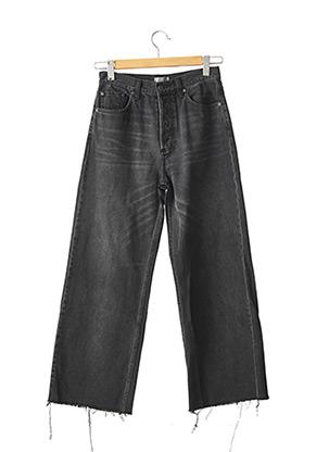 Jeans coupe large gris BOYISH pour femme