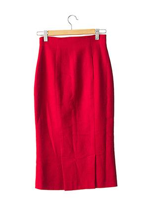 Jupe longue rouge EMMANUELLE KHANH pour femme