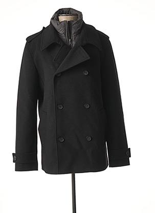 Manteau court noir TOM TAILOR pour homme