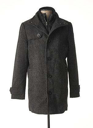 Manteau long gris TOM TAILOR pour homme