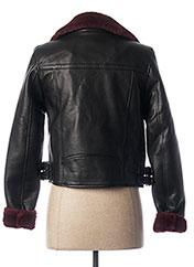 Veste simili cuir noir VERO MODA pour femme seconde vue