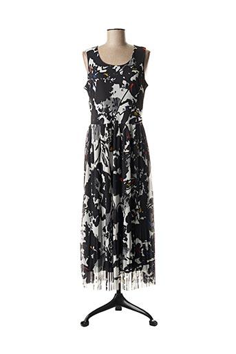 Robe longue noir EROKE pour femme