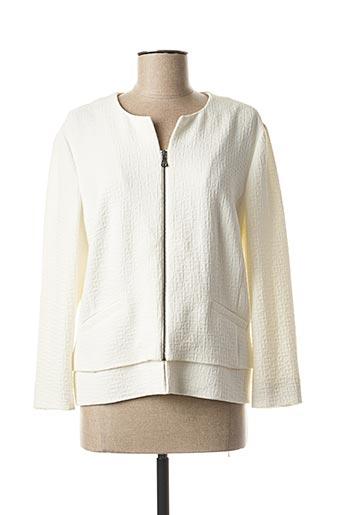 Veste casual blanc GERRY WEBER pour femme