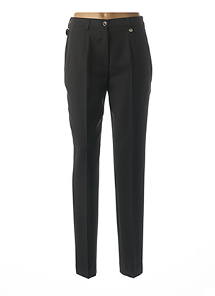 Pantalon chic noir BRUNO SAINT HILAIRE pour femme
