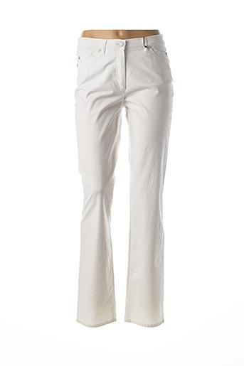Pantalon casual blanc GERRY WEBER pour femme