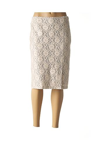 Jupe mi-longue rose GERRY WEBER pour femme