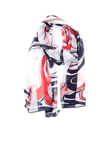 Foulard rouge KARTING pour femme