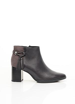 Bottines/Boots gris CAPRICE pour femme