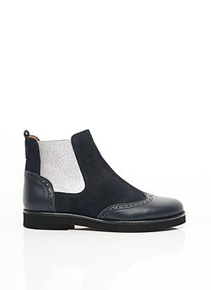 Bottines/Boots bleu BEBERLIS pour fille
