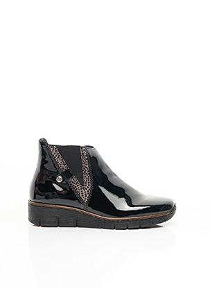 Bottines/Boots noir RIEKER pour fille