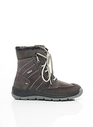 Bottines/Boots gris ELEMENTERRE pour femme
