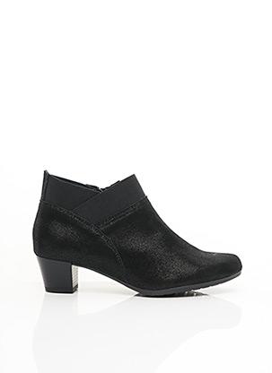Bottines/Boots noir ALPINA pour femme