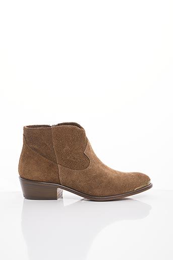 Bottines/Boots marron BLU VELVET pour femme