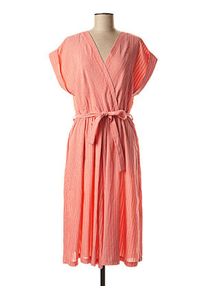 Robe mi-longue rouge MOLLY BRACKEN pour femme