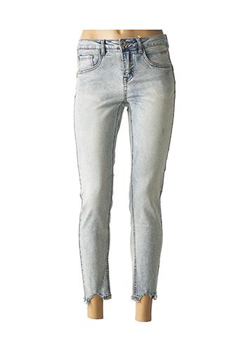 Jeans coupe slim bleu CREAM pour femme