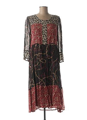 Robe longue noir CREAM pour femme