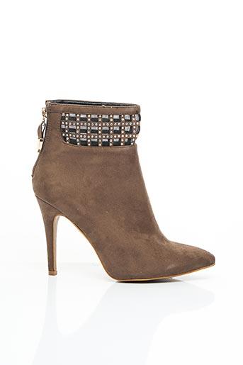 Bottines/Boots beige CASSIS COTE D'AZUR pour femme